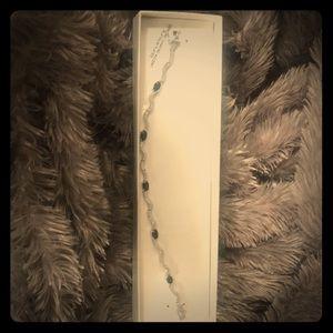 Jewelry - New Sapphire and diamond accent bracelet